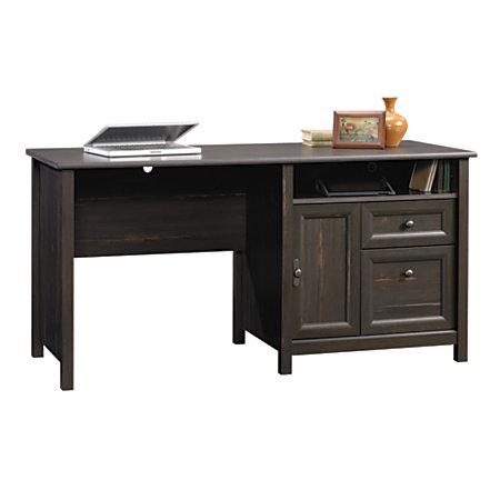 Sauder computer desk antique paint by office depot officemax - Office max office desk ...