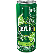 Perrier Flavored Sparkling Mineral Water Lime