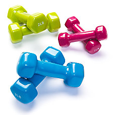 Black Mountain Products Vinyl Dumbbell Combo