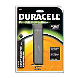 Duracell rechargeable battery coupons
