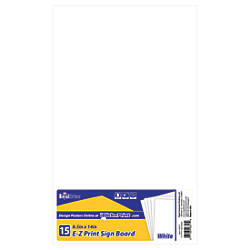 Geographics E Z Print Sign Boards