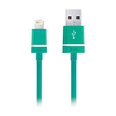iLuv Lightning SyncCharge Cable 3 Green