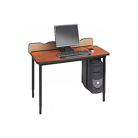 Bretford quattro series qft3048 computer table by office for Serie a table 99 00