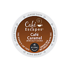 Caf Escapes Caf Caramel K Cups