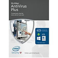 McAfee 2016 Antivirus Plus Unlimited Devices