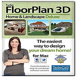 TurboFloorPlan Home Landscape Deluxe 2017 Mac