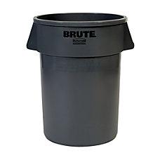 Rubbermaid Brute Round Plastic Trash Can