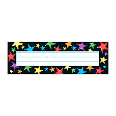 TREND Desk Toppers Name Plates Gel