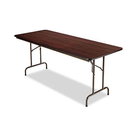 Alera folding table rectangular 29 h x 72 w x 30 d for Office depot folding tables