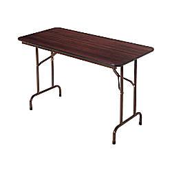 Alera folding table rectangular 29 h x 48 w x 24 d for Office depot folding tables