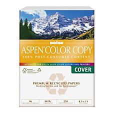 Boise Aspen Color Copy Paper Letter