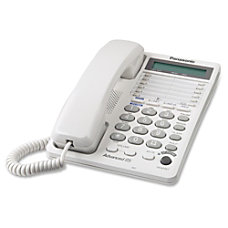 Panasonic KX TS208W 2 Line Integrated