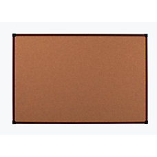 Office Depot Brand Framed Cork Board