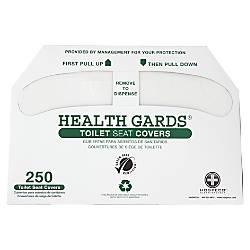 Health Gards Toilet Seat Covers White