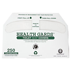 Health Gards Toilet Seat Covers White