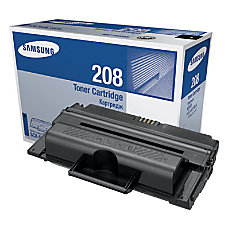 Samsung MLT D208S Black Toner Cartridge