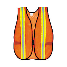 MCR Safety Polyester Safety Vest One
