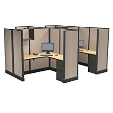 Cube Solutions MetalLaminate Cubicles Full Height
