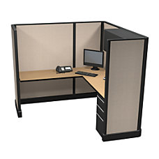 Cube Solutions MetalLaminate Cubicle Full Height