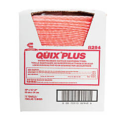 Chix Quix Plus Cloth Disinfecting Towels