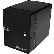 StarTechcom USB 30 eSATA 4 Bay
