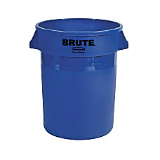 Rubbermaid Brute Refuse Container Round Plastic