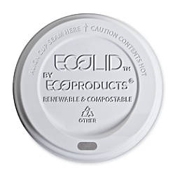 Eco Products Hot Cup Lids Translucent