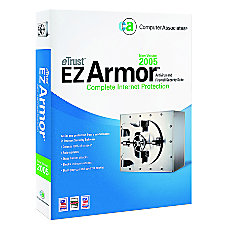 eTrust EZ Armor 2005 Traditional Disc