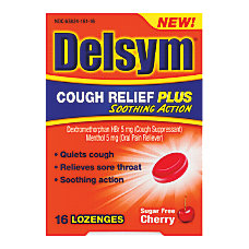 Delsym Cough Relief Plus Sugar Free