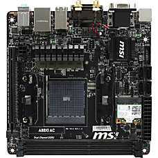 MSI A88XI AC Desktop Motherboard AMD