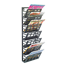 Safco Steel Grid Magazine Rack 7