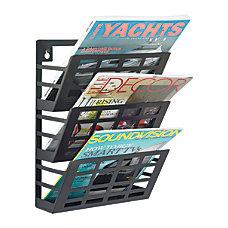 Safco Steel Grid Magazine Rack 3