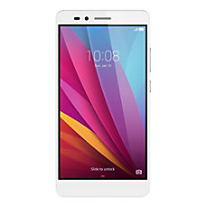 Huawei Honor 5X Cell Phone Silver