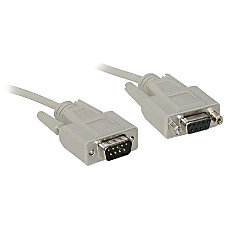 C2G 6ft DB9 MF Extension Cable
