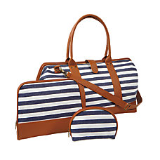 Orbit Cotton 3 Piece Weekender Set