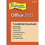 Professor Teaches Office 2013 Tutorial Set