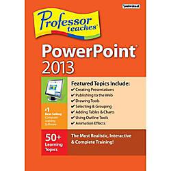 Professor Teaches PowerPoint 2013 Download Version