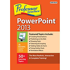 Professor Teaches PowerPoint 2013 Download Version