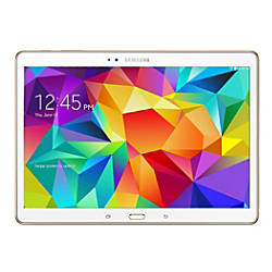 "Samsung Galaxy Tab® S 10.5"" Tablet, 16GB, Dazzling White"