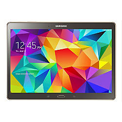"Samsung Galaxy Tab® S 10.5"" Tablet, 16GB, Titanium Bronze"