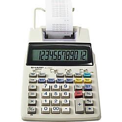 Sharp EL 1750V Printing Calculator