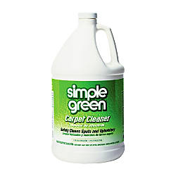 Simple Green Nontoxic Carpet Cleaner 1 Gallon By Office