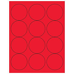 Office Depot Brand Labels Circle 2