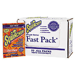 Sqwincher Fast Pack Orange 6 oz