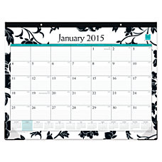 Blue Sky 50percent Recycled Desk Pad