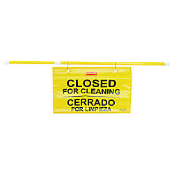 Rubbermaid Site Safety Hanging Sign 1