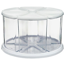 deflecto Carousel Organizer Set 6 Compartments