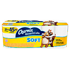 Charmin Essentials 2 Ply Bathroom Tissue