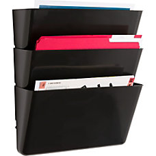 Sparco Mountable Wall File Pockets 145