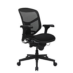 workpro quantum 9000 series ergonomic mid back meshfabric chair